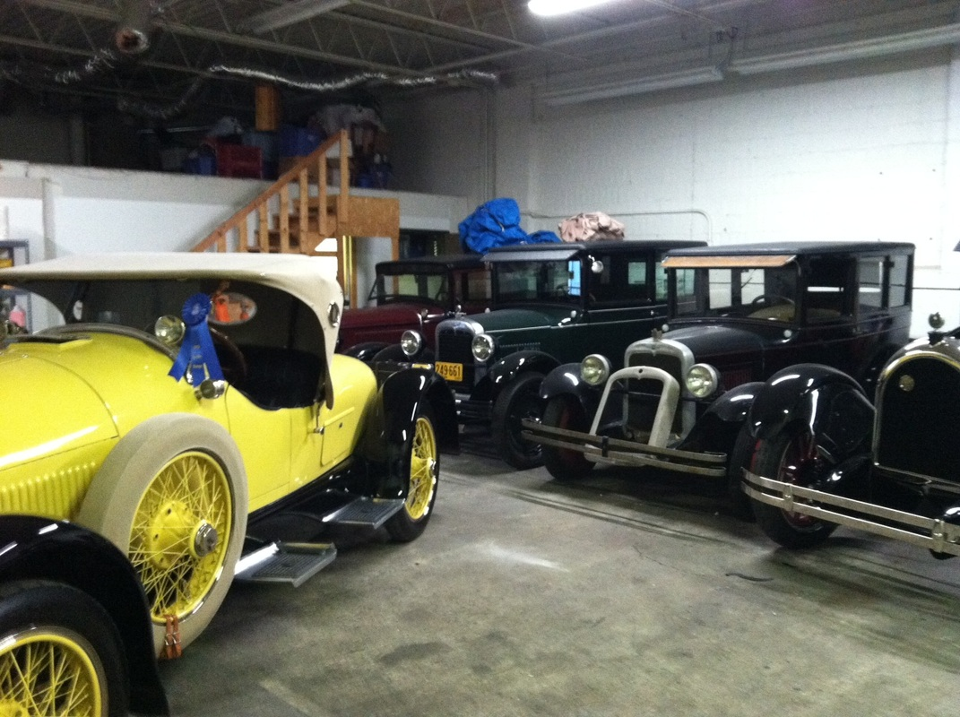 1927 Chevrolet Capital Coach - Kissels and Classic Cars by Ronald ...