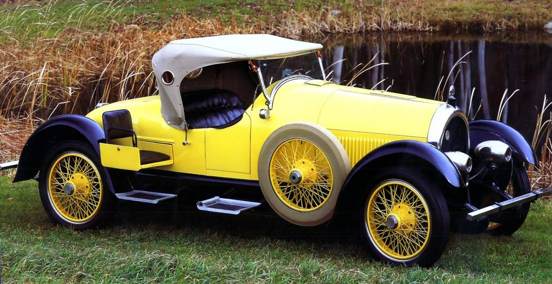1923 Kissel Gold Bug Speedster - Kissels and Classic Cars by Ronald ...